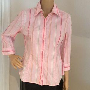 Talbots stretch Dress Shirt